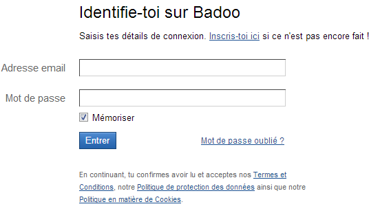 Badoo site rencontre france