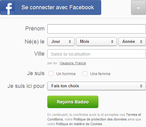 Badoo rencontre france page